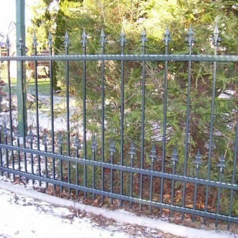 ogrodzenie metalowe