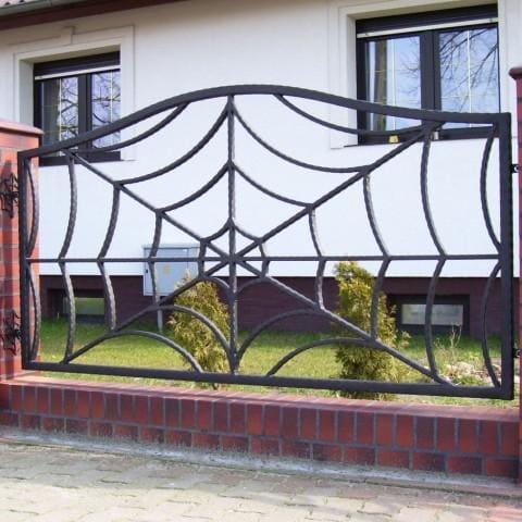ogrodzenie pajęczyna