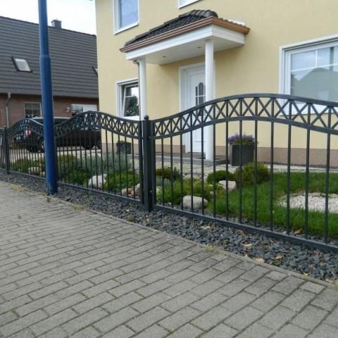 metalowe ogrodzenie lubuskie