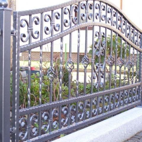 metalowe ogrodzenie kute krosno