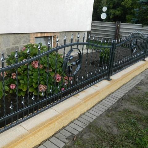 ogrodzenie metalowe gubin